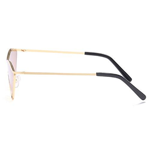 Gafas Conducción Sol Goldenframedoubletea Sol KKCF Portátiles De De De Manera UV400 Gafas Protección Gafas Hombres Señoras Goldframebluepiece Gafas Los De La De Playa Polarizadas De OOqY7w