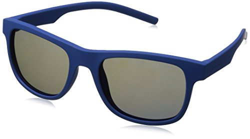 Polaroid Sunglasses Pld6015s Polarized Wayfarer Sunglasses, Blue/Gray Blue Mirror, 51 - Blue Sunglasses Mirror Amazon