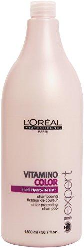 L'Oréal Paris Professionnel Vitamino Color, Haarshampoo für coloriertes Haar, 1er Pack (1 x 1500 ml)