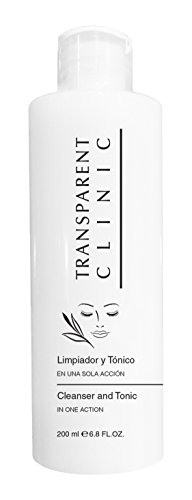 Transparent Clinic Cleanser and Tonic with Floral Extracts, 200 Milliliters ()