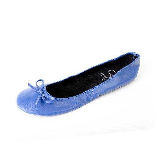 couleurs les bleue disponibles mat dans ruban tailles Ballerines pliables en jusqu' avec Chaussures femme PxwgqS8RBn