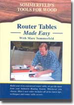 ROUTER TABLES MADE EASY with Marc Sommerfeld (Router Table Plans)