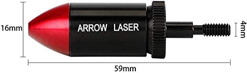 Archery Red Dot Laser Sight Flèches Arc boresighter Outil Laser Bow Hunting