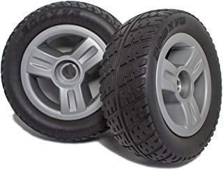 DW820 Pride Go-Go Elite Traveller 3 or 4 Wheel Scooter Rear Wheels and Tire Replacement, Pair by New Solutions