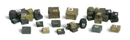 WOODLAND SCENICS A2739 Assorted Crates O WOOU2739 by Woodland Scenics