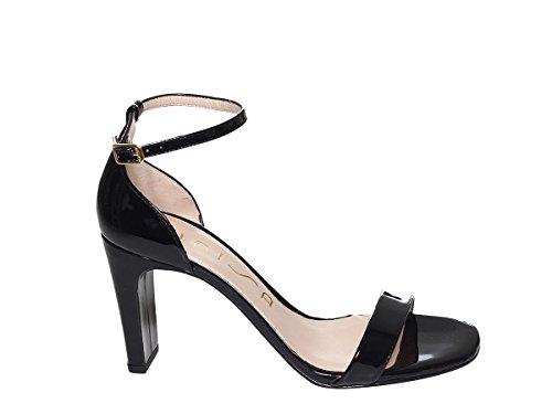 Selma Black Scarpe Patent Pe18 Unisa Sandalo Donna 4R8n1q b57a200c0ed