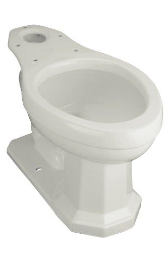 Ice Grey Elongated Rough (Kohler K-4258-95 Kathryn Comfort Height Toilet Bowl, Less Seat, Ice Grey)