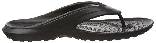 Crocs Classic, Sandalias Flip-Flop Unisex Adulto Nero (Black)
