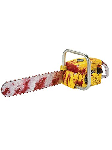 Rubie's Costume Unisex-Adult's Animated Chainsaw, as Shown, Standard -