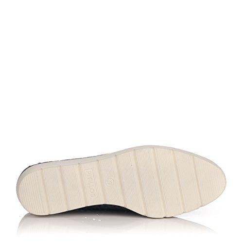 Cordon Calado Mujer Zapato Pitillos 5122 Marino 0ZRxqEHaw