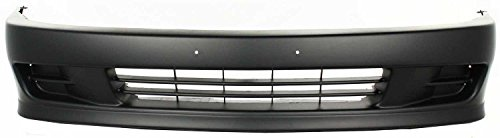 OE Replacement Mitsubishi Mirage Front Bumper Cover (Partslink Number MI1000257)