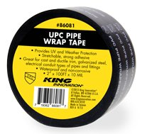KING INNOVATION 86081 UPC Pipe Wrap Tape KING INNOVATIONS