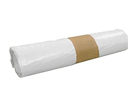 PLASBEL Rollo bolsa basura blanca 25 Litros. Resistente y ...