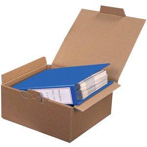 pressel Cajas de Cartón, para 2 archivadores, cartón ondulado, I: 323 x
