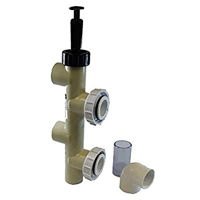 Pentair 263064 PVC Push Pull Slide Valve, 7 1/2 Inch Centerline, Almond, For D.E. and Sand Filters : Swimming Pool Filter Valves : Garden & Outdoor