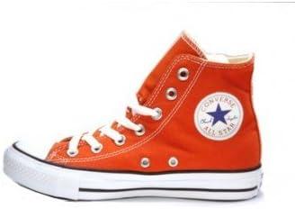 Converse Montante Orange Citrouille: Amazon.fr: Chaussures ...