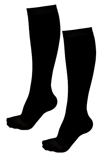 Pack of 2 Pairs Which Is 4 Knee High Compression Socks for Women with Shoe Sizes From 6-10 USA Compression Stockings Model: