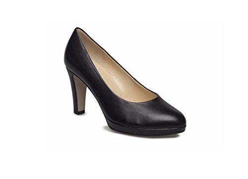 negro negro Zapatos Gabor mujer de vestir de para Piel 08xgpq8