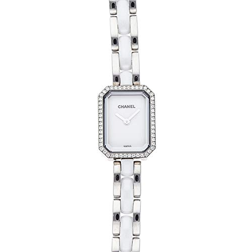 Chanel Premiere Quartz (Battery) White Dial Womens Watch H3059 (Certified Pre-Owned)