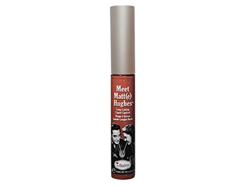 theBalm Meet Matte Hughes Lip Color, Committed, 0.25 FL OZ
