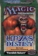 "Magic the Gathering ""Fiendish Nature"" Urza's Destiny"