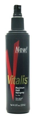 Vitalis Hairspray Pump Maximum Hold 8 oz. (Case of 6) ()