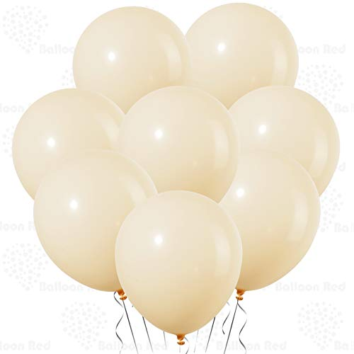 - Baby Peach 10 Inch Pastel Color Thickened Latex Balloons, Pack of 24, Premium Helium Quality for Wedding Bridal Baby Shower Birthday Party Decorations Supplies Ballon Baloon Thinken