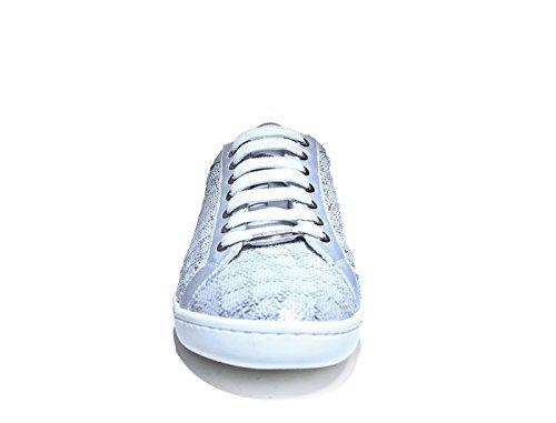 und nbsp;Sneaker mit Frau Artikel silbernen Pailletten neue 5052 Keys Frühlings Sommerkollektion 2017 7UxzwZU