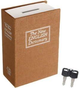 Tutoy - Caja de Seguridad para Guardar Llaves, Caja de Seguridad, Caja de Dinero, Amarillo: Amazon.es: Hogar