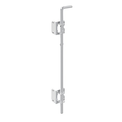 Boerboel Gate Solutions 73014306 Heavy Duty Drop Rod, White ()