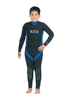 3/2mm Tilos Childrens Wetsuit Wet Suit Childs Child Boys Girls Boy Girl Kids Wetsuit Adventure Titanium Jumpsuit for Water Sports Surf Surfing Surfer Swim Swimming Swimmers Snorkel Snorkeling Scuba Dive Diving Diver, Large Size 14