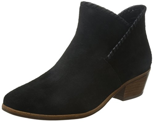 - Jack Rogers Women's Sadie Suede Boot, Black, 6 M US
