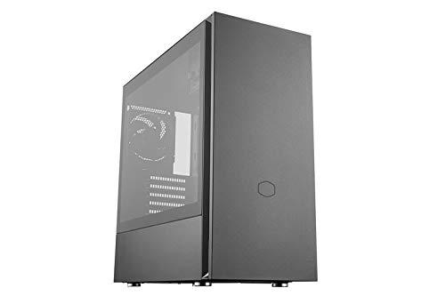 Cooler Master Silencio S600 Midi Tower ATX Case, Glasfenster, Schallgedämmt