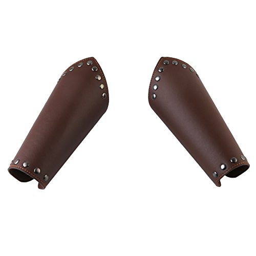 HZMAN Faux Leather Arm Guards - Medieval