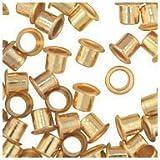 WIDGETCO 1/4'' Brass Shelf Pin Sleeves