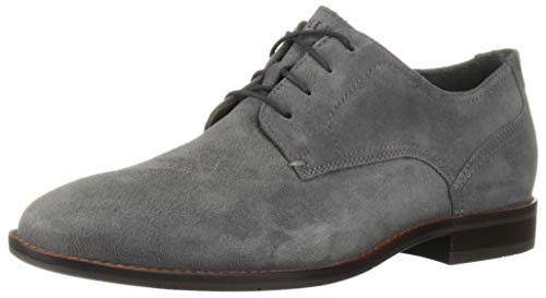 (Cole Haan Men's AEROCRAFT Grand Plain OX Oxford Magnet Suede 11 M US)