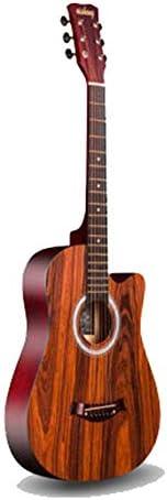 アコースティックギター アコースティックギター初心者初心者エントリ練習ピアノの指アコースティックギター38インチ 初心者 (Color : D, Size : 38 inches)