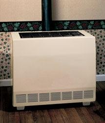 Comfort Infrared Natural Gas Heater - Empire Closed Front Room Heater W/Blower Natural Gas 50000 BTU