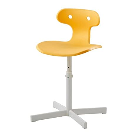 Miraculous Desk Chair Yellow Adjustable Height Easy Assembly Comfortable Inzonedesignstudio Interior Chair Design Inzonedesignstudiocom