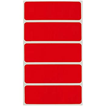 100 1 x 2.5 INSURED Handle with care Sticker labels Red Fluorescent Stickers NEW