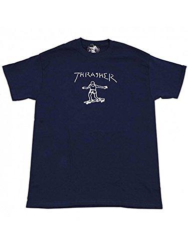 Thrasher Gonz Tshirt Navy - Medium by Thrasher