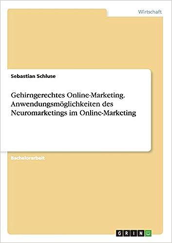 Online marketing bachelorarbeit zukunft der arbeit