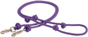 - Mustang Poly Rope Contest Rein 8ft Purple