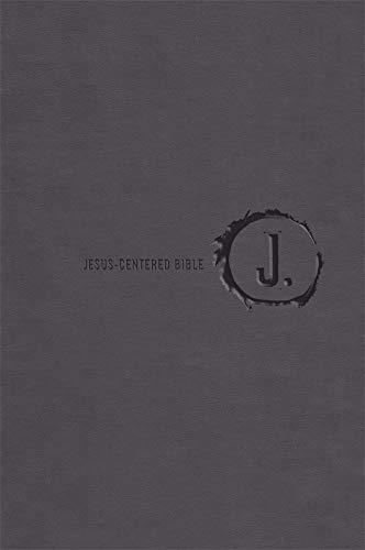Jesus-Centered Bible NLT, Charcoal