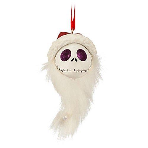 (Disney's Jack Skellington Ornament Santa Head. Nightmare Before)