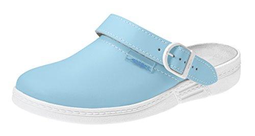 Arztschuhe Laborschuhe hellblau ABEBA 7081