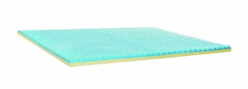 Sleep Innovations 2 5 Gel Memory Foam Mattress Topper With