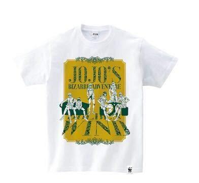 ジョジョの奇妙な冒険 黄金の風×ルミネ 限定Tシャツ Mサイズ ジョジョ展 荒木飛呂彦原画展