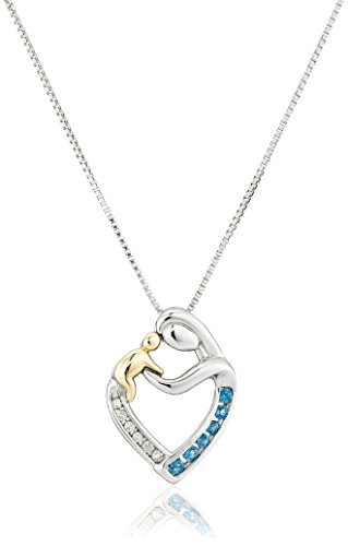 Sterling Silver Mothers Pendant Necklace