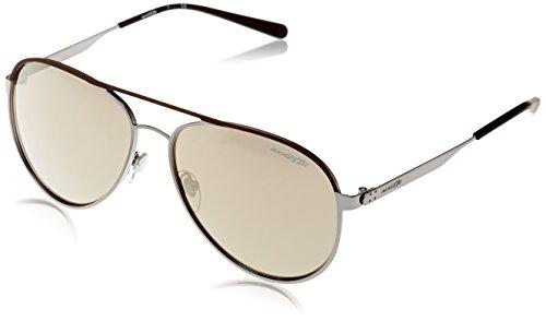 Arnette AN3071 Sonnenbrille Rubber Gunmetal Brown DWEET Bn06Bwq7r